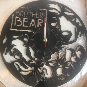 Disney- Brother Bear wall clock (NIB)